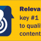 Being Relevant:  The First Standard of High-Quality Thought Leadership Content